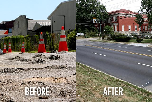 Roadway Restoration